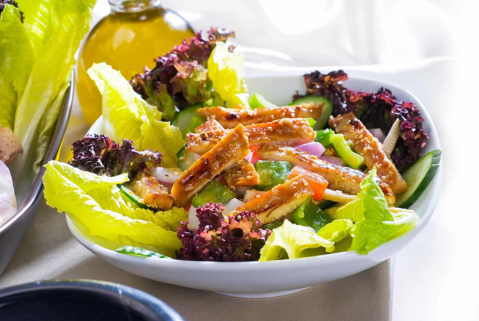 Backhendlsalat - Fit in den Sommer